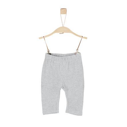 s.Oliver Boys Pantalón de jersey gris claro mélange