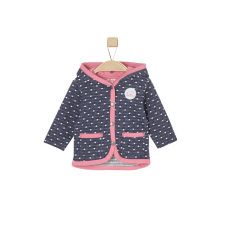 s.Oliver Girls Sweatshirt-Jacke blue knit