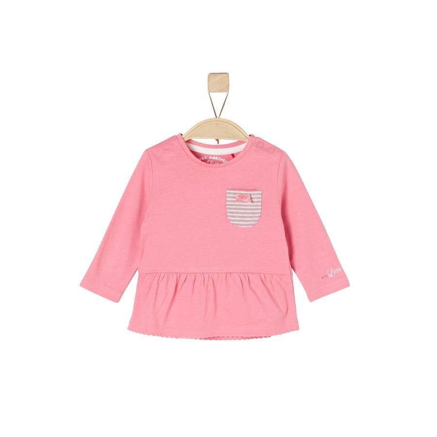 s.Oliver  Långärmad skjorta rosa