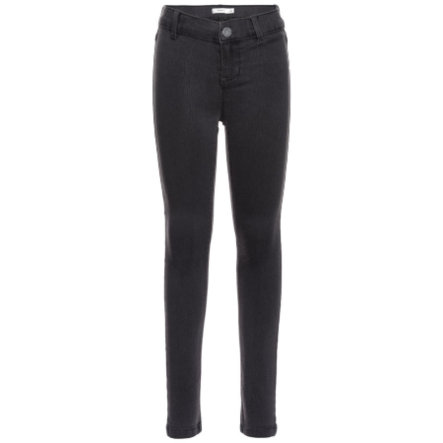 name it Girls Jeans Tera dark grey denim