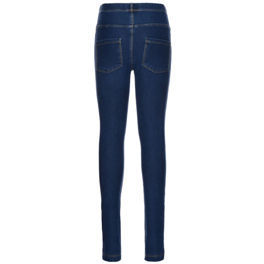 NAME IT Girls Leggings Tille dark blue denim