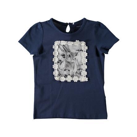 name it Girls T-Shirt Feolina insignia blue