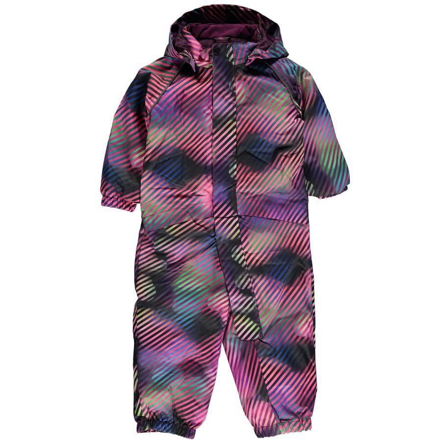 name it Girls Schneeanzug Slope dark purple