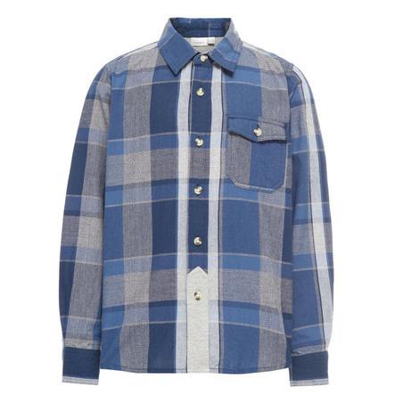 name it Boys Shirt Kimbo jurkje blauw