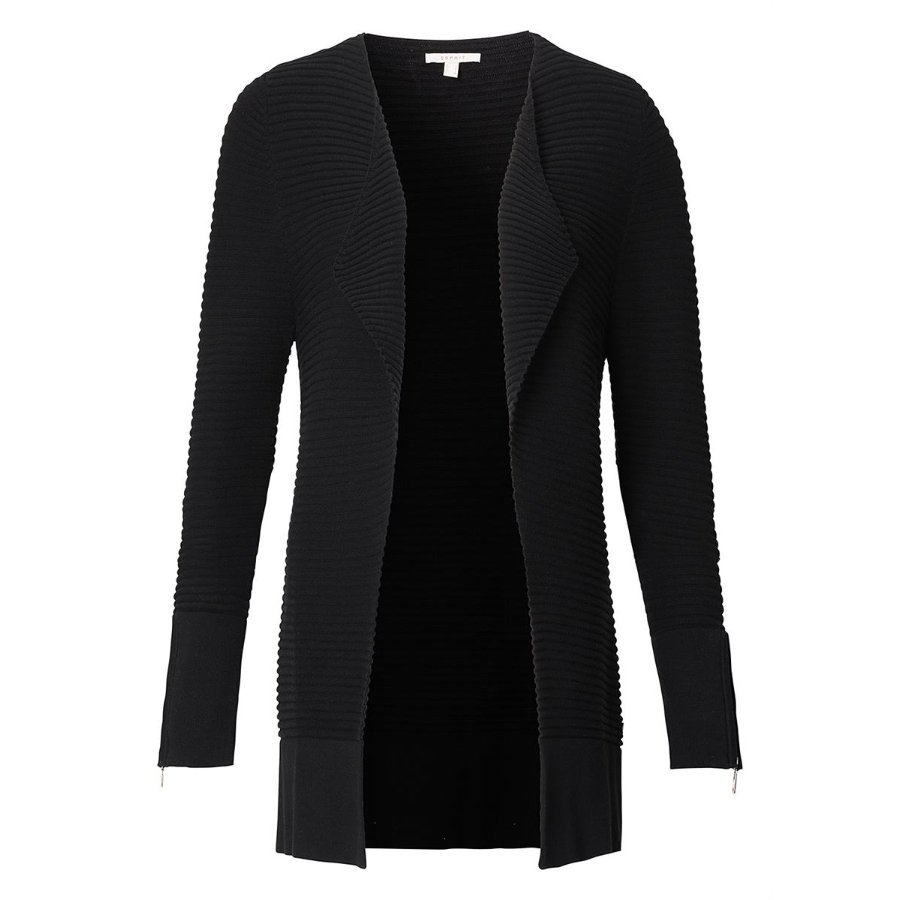 ESPRIT Umstandscardigan black