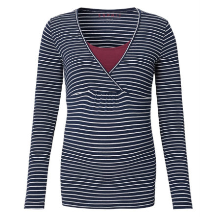 ESPRIT Stillshirt  Stripes Night blue