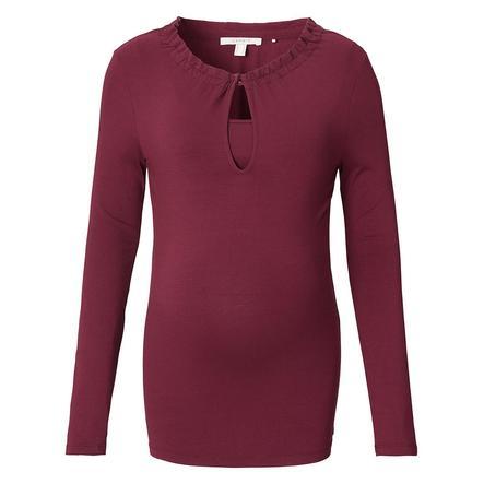 ESPRIT Camicia da allattamento rosso bruno
