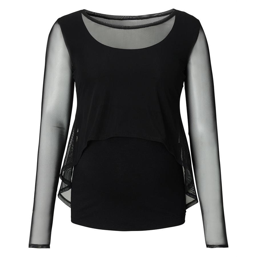 ESPRIT Koszulka Stillshirt Mix Black