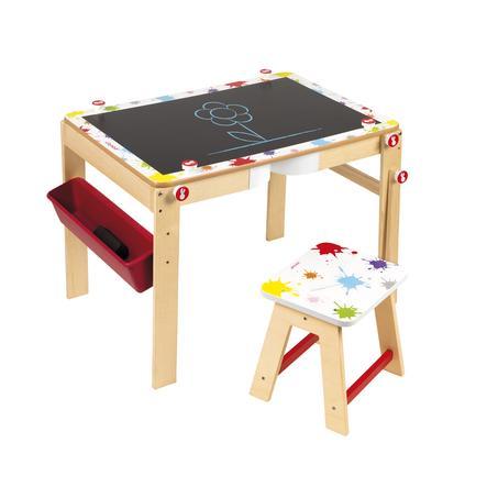 Janod® 2-in-1 Tafel-Schreibtisch Splash