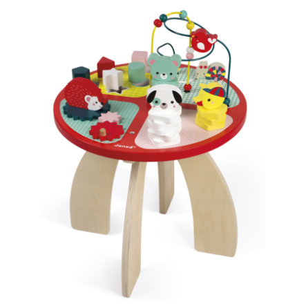 Janod® Mesa de actividades para bebé, Bosque