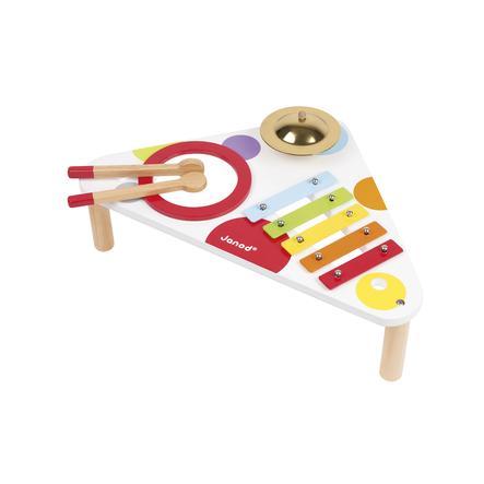 Janod® Konfetti hudební stolek