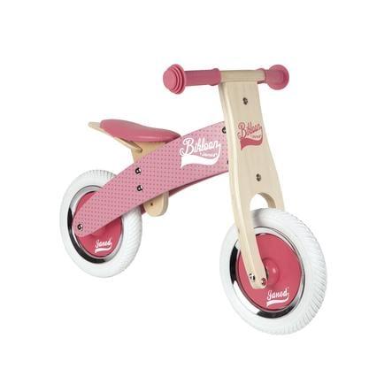 Janod® Little Bikloon dřevěné odrážedlo, rosa