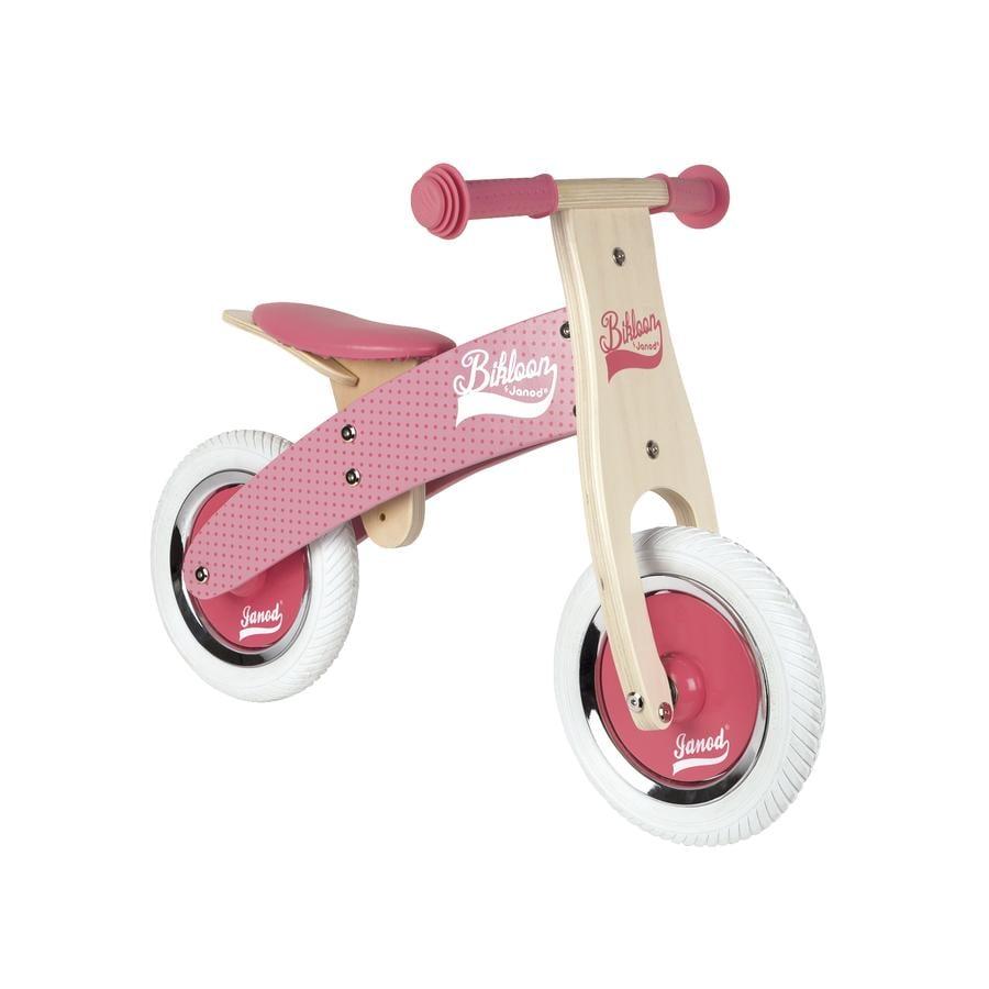 Janod® Bikloon Mijn eerste loopfiets, klein, roze