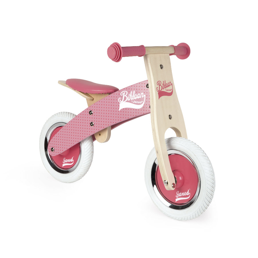 Janod® Draisienne Little Bikloon, bois, rose