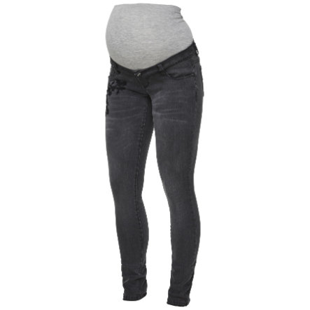 mama licious Umstandsjeans MLLETICIA Medium Grey