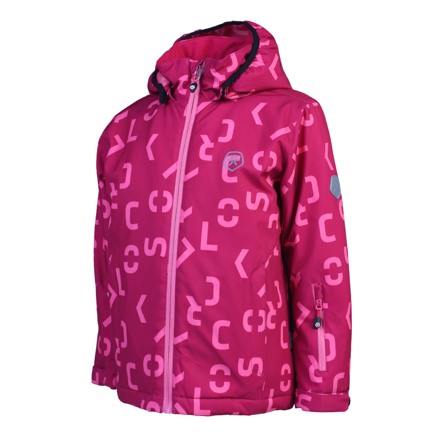 COLOR KIDS  Soft veste coquille KERTO Framboise