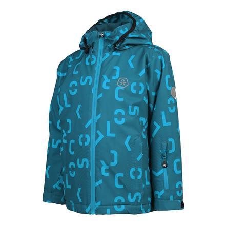 COLOR KIDS  Soft giacca conchiglia KERTO Deep Lagoon
