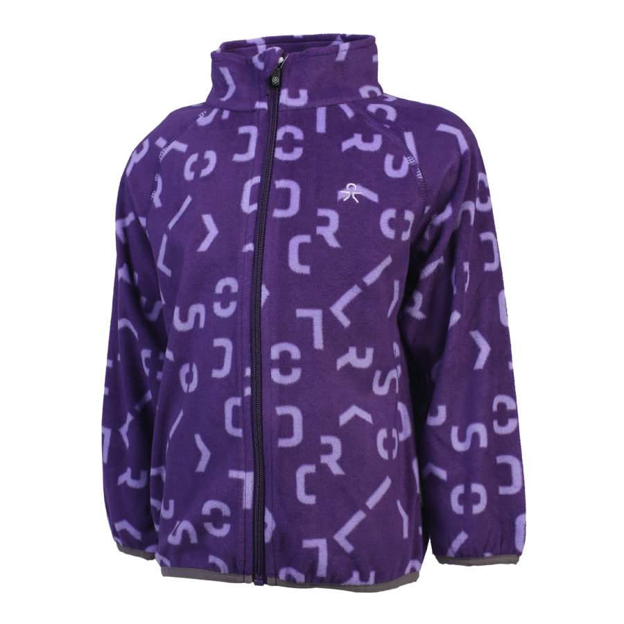 COLOR KIDS Kassandra Fleecejacke Violet Indigo