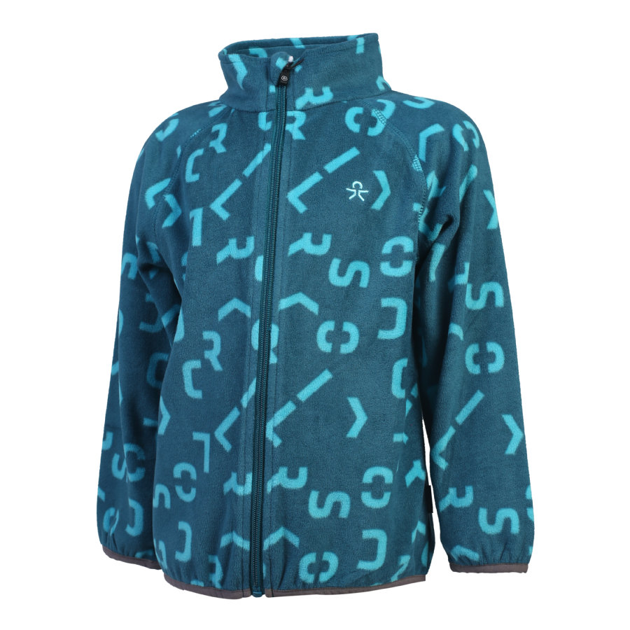 COLOR KIDS Kasandra Fleecejacke Deep Lagoon
