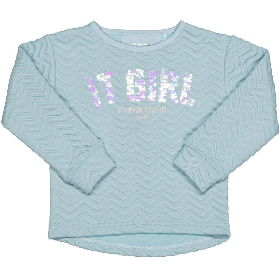 JETTE by STACCATO Girl s Boxy sweat aqua