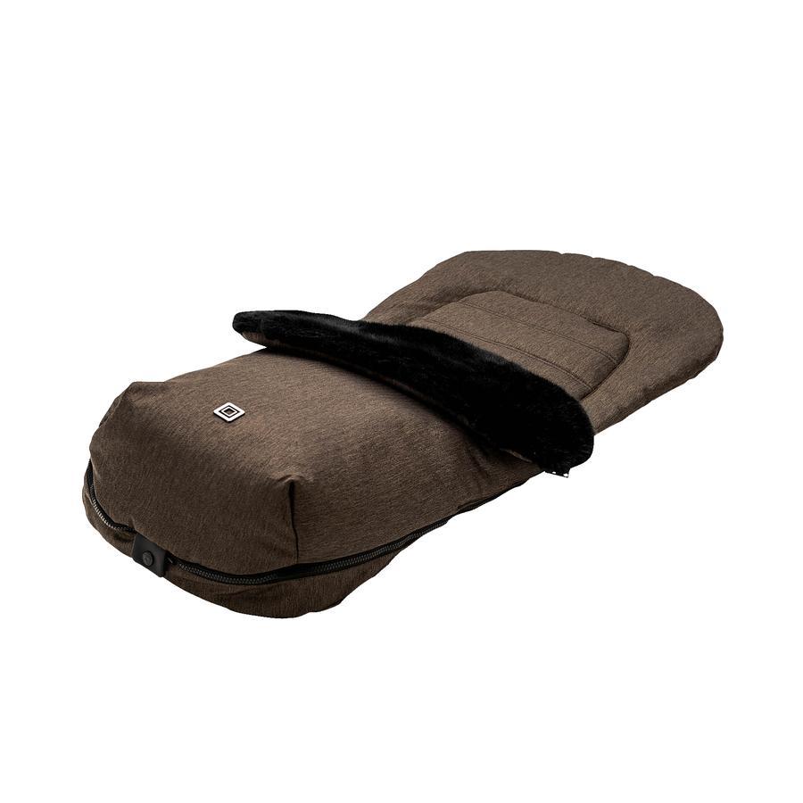 MOON Fußsack brown/fishbone