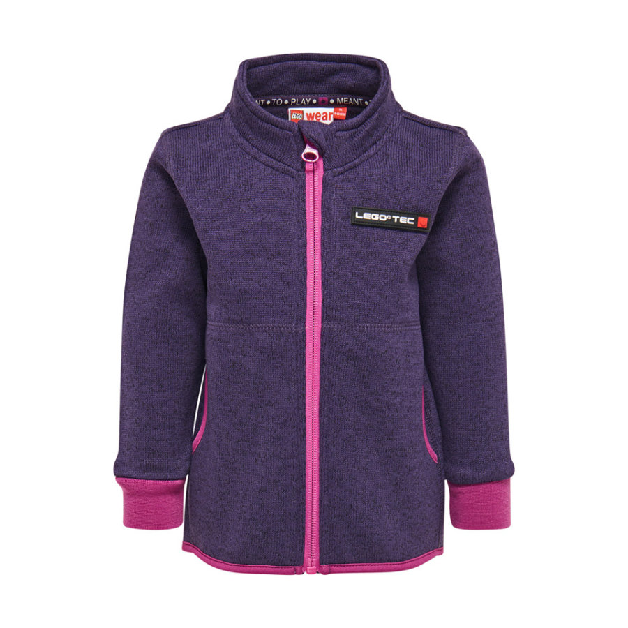 LEGO Wear Kurtka polarowa Sofus dark purple