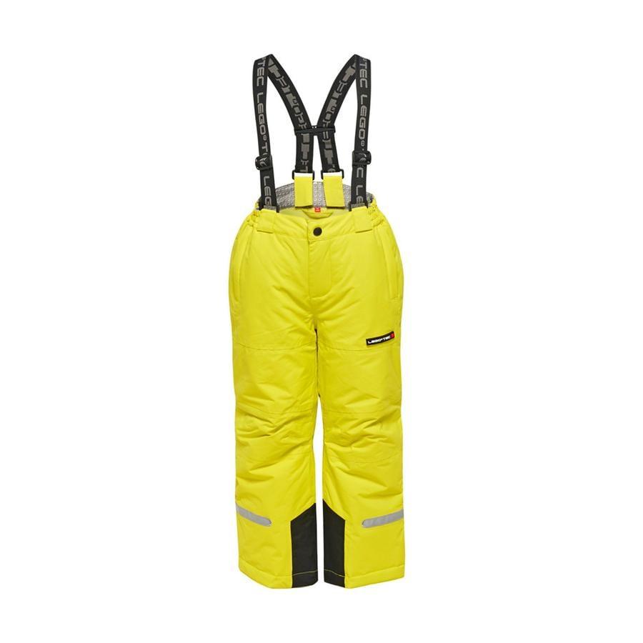 LEGO wear hiihtohousut PILOU keltainen