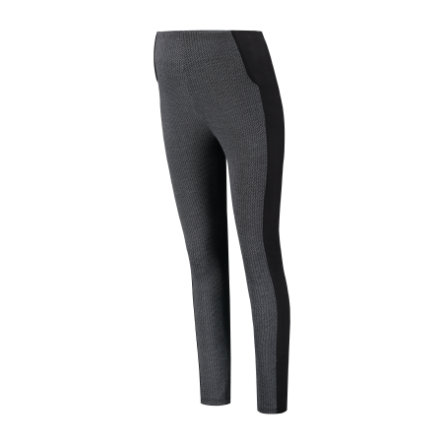 LOVE2WAIT Umstandsleggings Herringbone Black