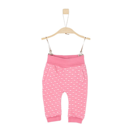 s.Oliver Girl s joggingbroek roze gebreid