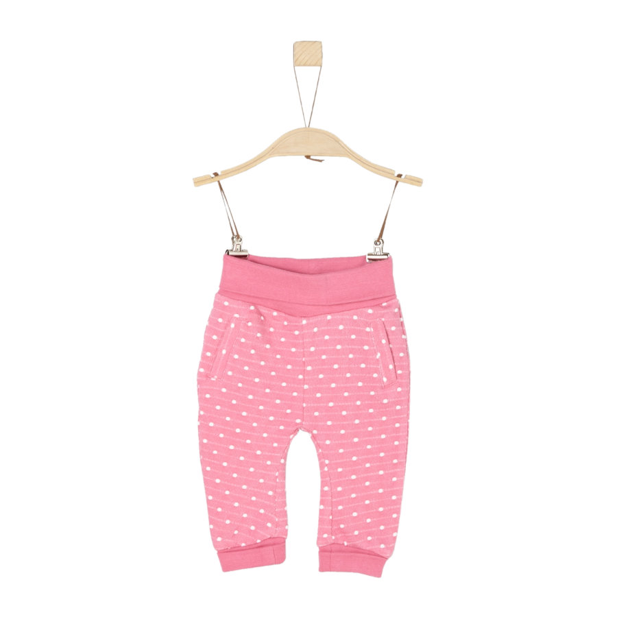 s.Oliver Girl s pantalon de survêtement en tricot rose