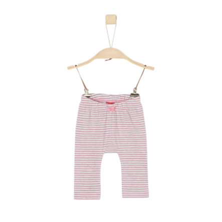 s.Oliver Girls Leggings pink stripes