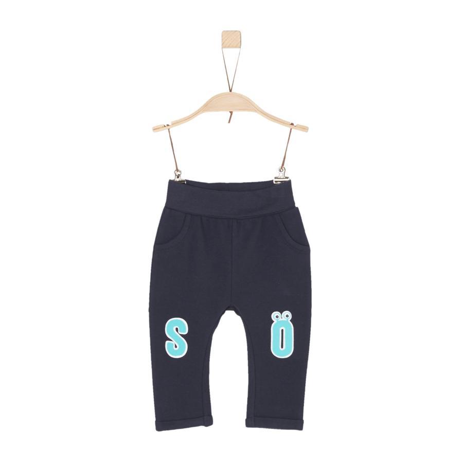 s.Oliver Boys Pantalón de chándal azul oscuro