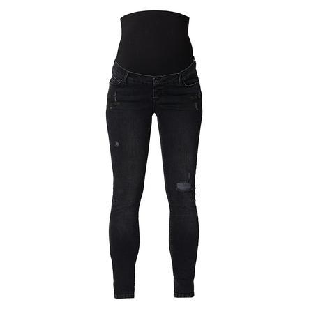 SUPERMOM Jeans de maternité Jeans OTB Noir Denim Longueur : 32