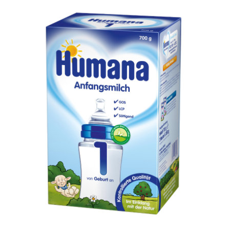 Humana Infant Formula 1 with LCP & GOS (700g)
