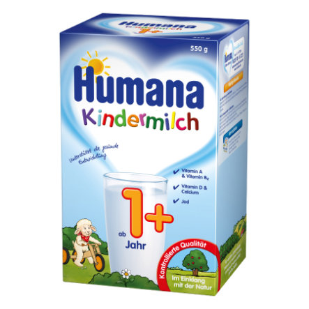 Humana Children's Milk 1+ 550g