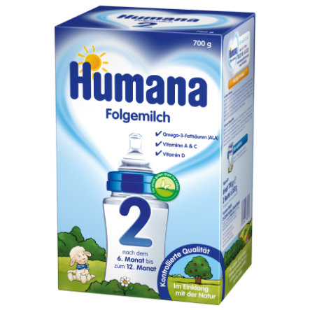 Humana Follow-On Formula 2 with GOS (700 g)
