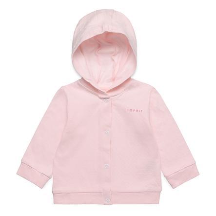 ESPRIT Girl s Basic Hoodie pastelowy różowy