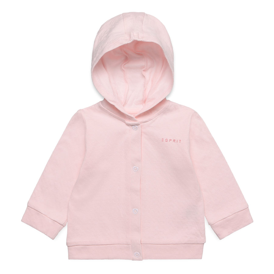 ESPRIT Girl s Sweat à capuche Basic rose pastel