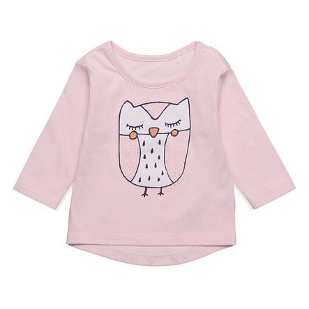 ESPRIT Girl s camisa de manga larga rosa pastel
