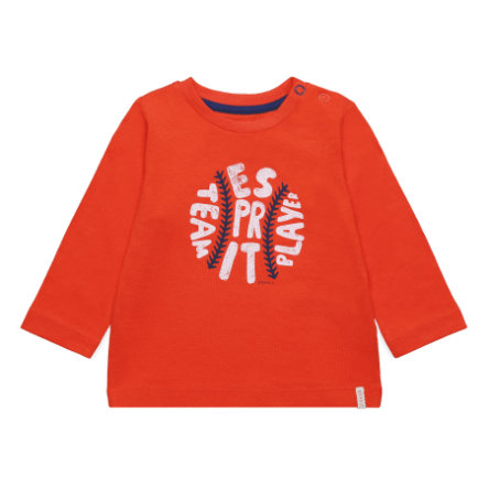 ESPRIT Boys Langarmshirt red orange