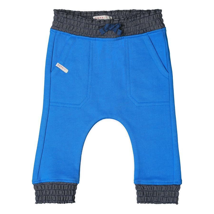 ESPRIT Boys Pantalón de chándal azul azur
