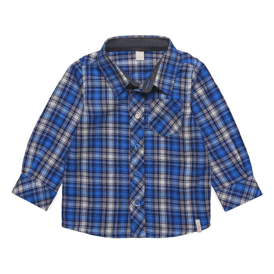 ESPRIT Boys Hemd azur blue