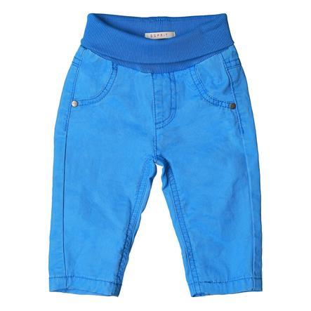 ESPRIT Boys Spodnie azur niebieski