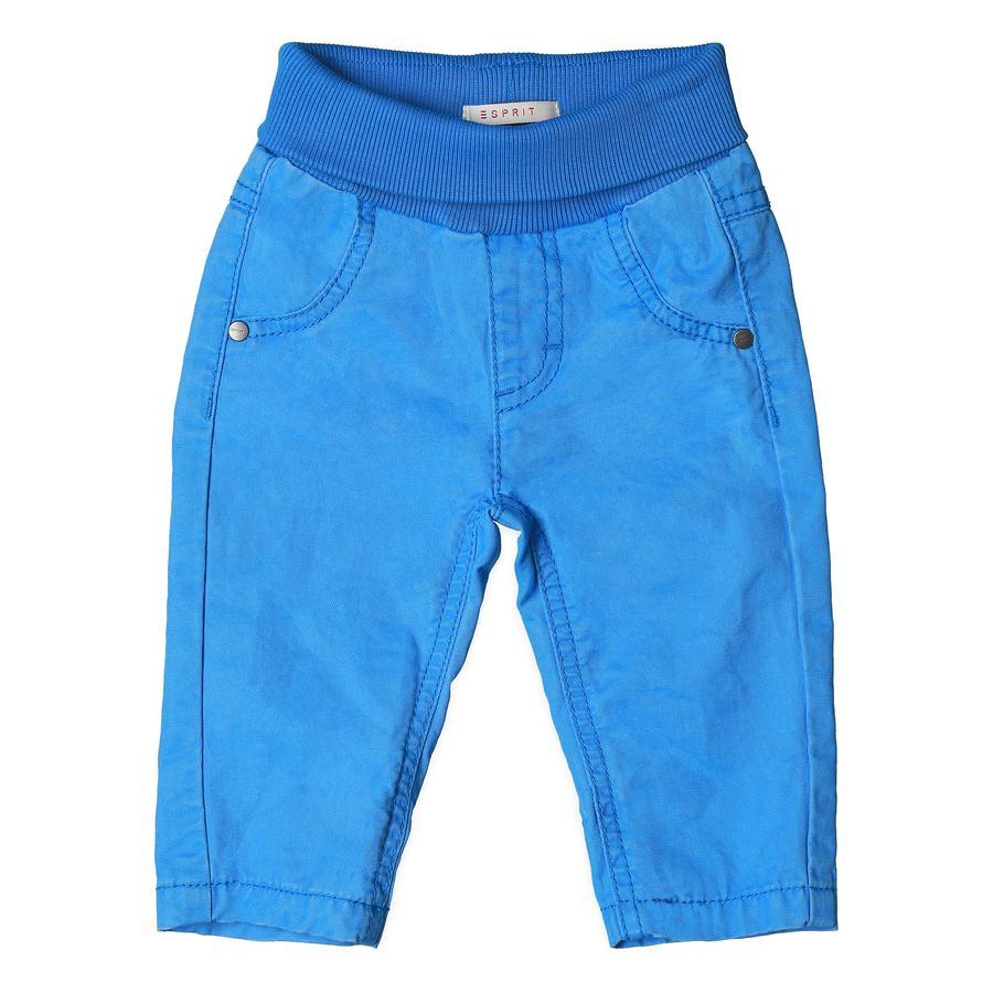 ESPRIT Chlapecké kalhoty azurově modré