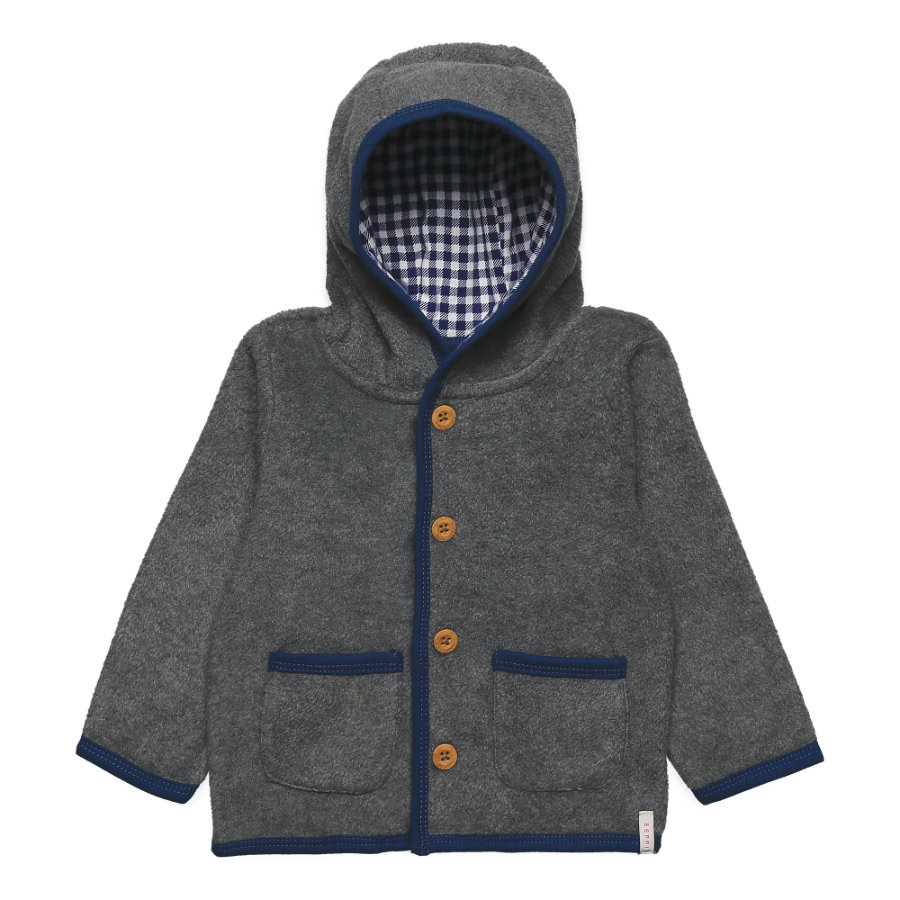 ESPRIT Boys Fleecejacke light heather grey