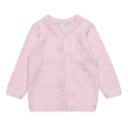 ESPRIT Girl s cardigan pastelowy różowy, kardiganowy