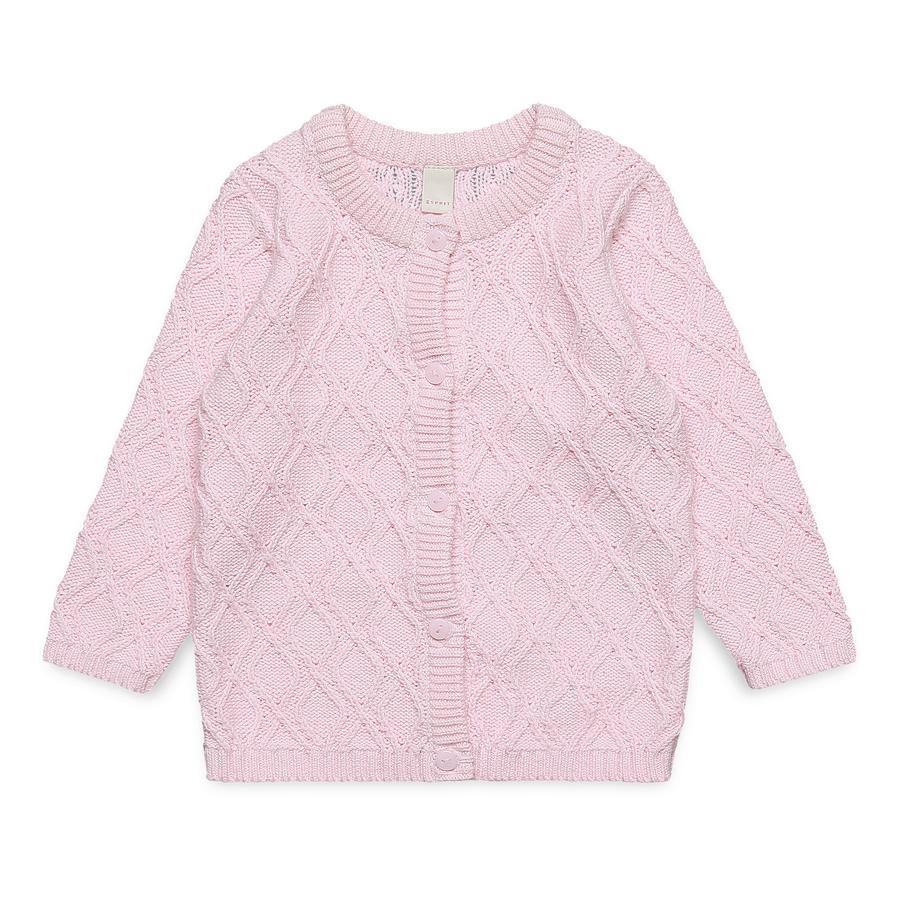 ESPRIT Girl s cardigan pastel roze