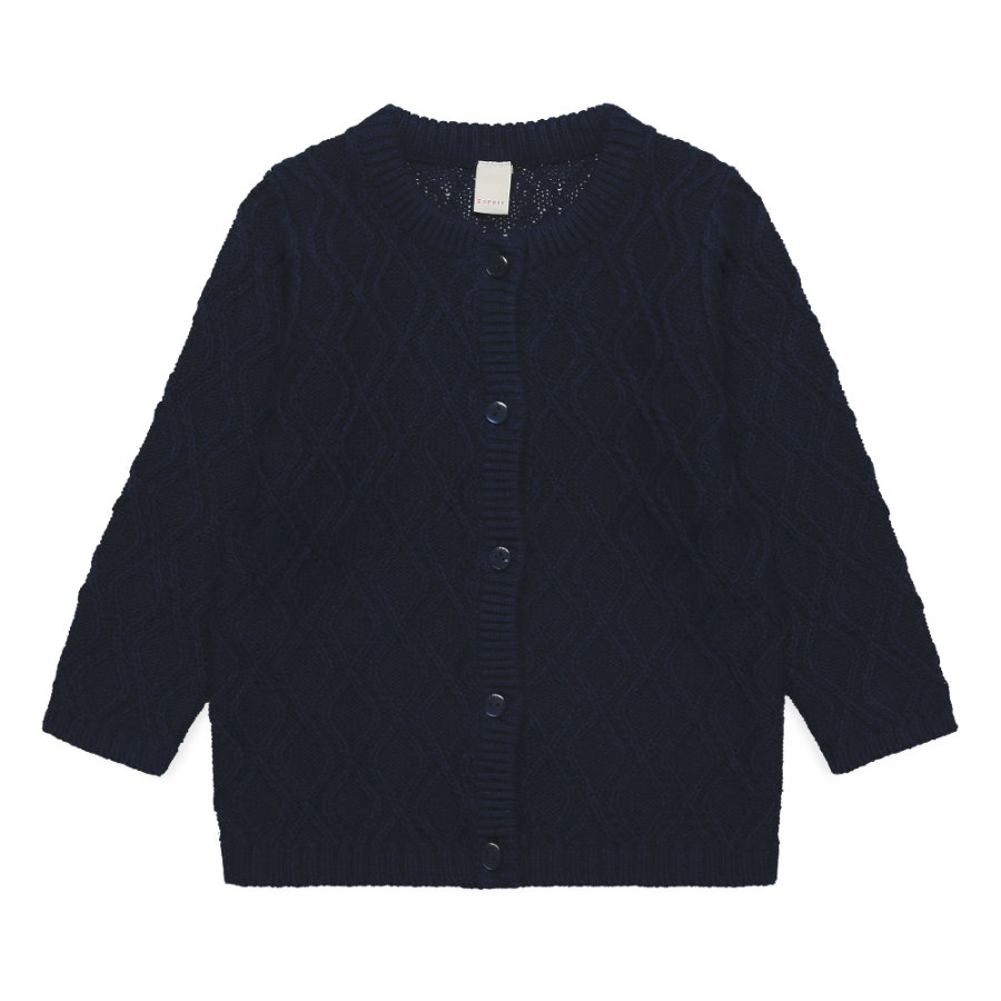 ESPRIT  Baby Girls Strickjacke navy