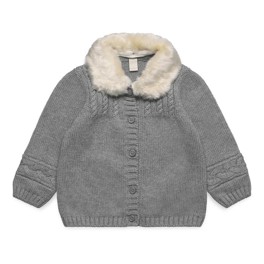 ESPRIT Baby Girl s cardigan midden heide grijs