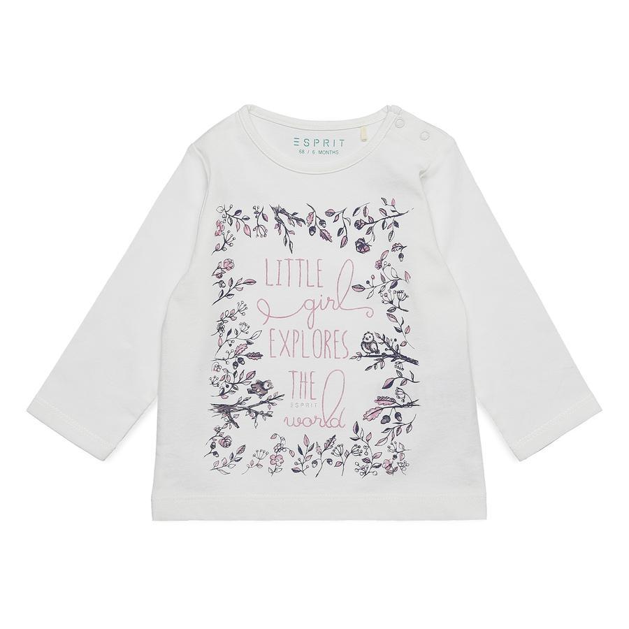 ESPRIT Camicia manica lunga bebé s bianco sporco